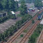 Bahnhofsbereich Heutige zeit