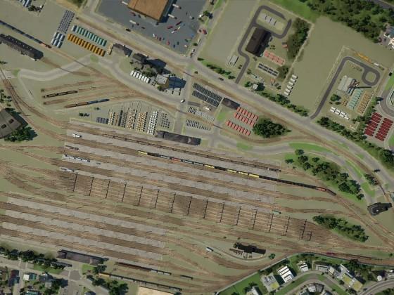 Güterbahnhof-Süd von DUKEcity