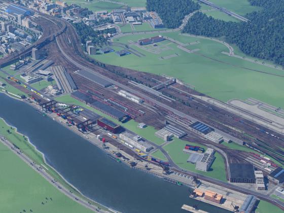 (WIP) Hauptbetriebswerk & Güterbahnhof