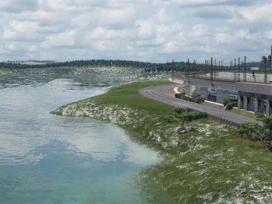 End of the coastal line