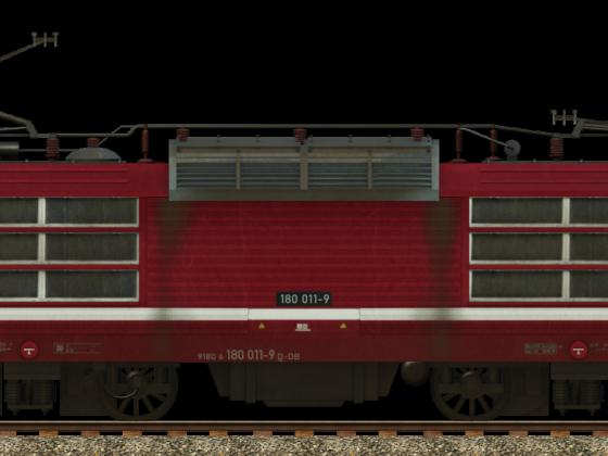 DB BR 180 - alte Version