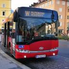 Die W zum Alpenzoo. (in welcher Stadt steht dieser Bus?)