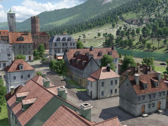 WIP: Ansiedlung zu Fuße des Schlosses