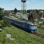 [TpF1] DR1A near the village in the countryside