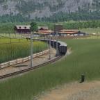 Schmalspuriger Getreidetransport