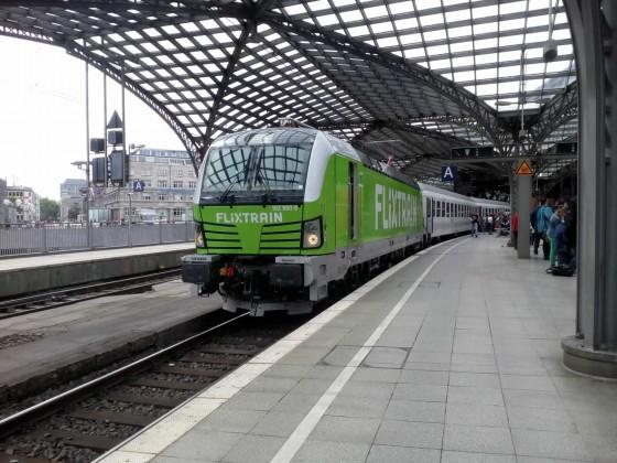 BR 193 von Flixtrain in Köln Hbf