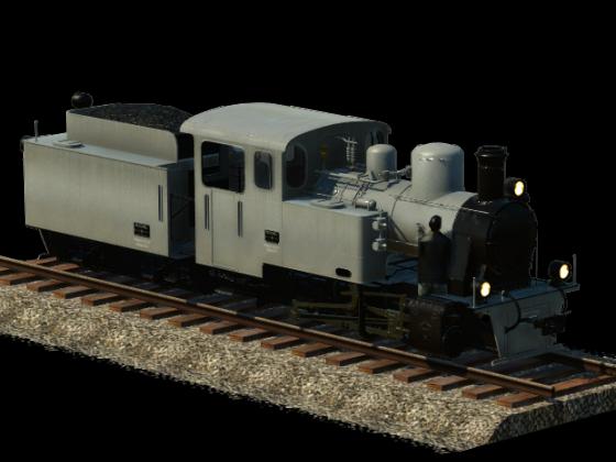 Henschel HF110C - Heeresfeldbahn