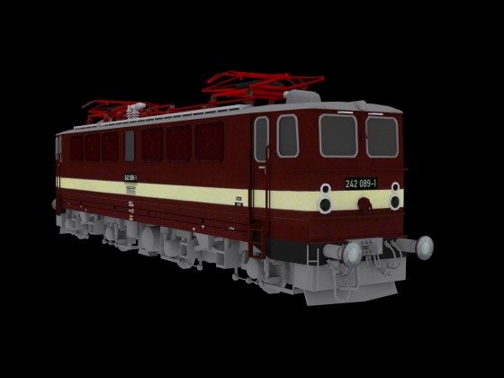 "Baureihe 242 ""Holzroller"""