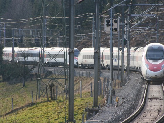 ETR 610 als EC nach Basel SBB