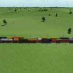 Die neue Vielfalt der Sggnss80 Container Waggons