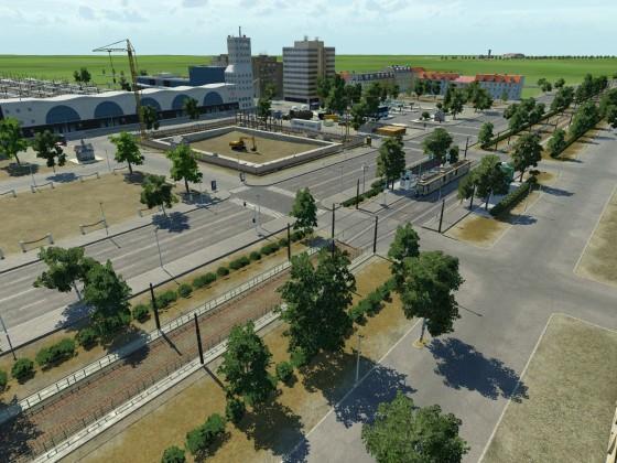 Umbauarbeiten am Hauptbahnhof