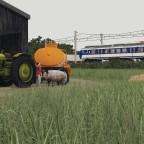 ÖBB 4020 near the farm