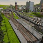 Einfahrt in den Bahnhof Schwerin