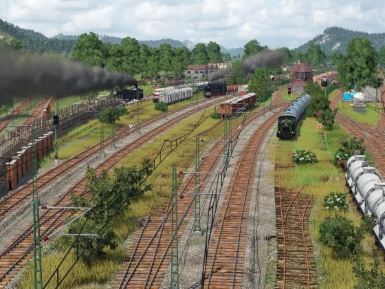 Fertiger Güterbahnhof 2