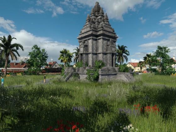 Tempel in den Tropen