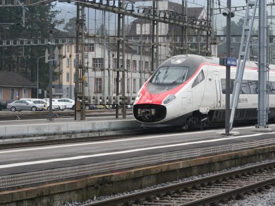 ETR 610 als EC nach Milano Centrale