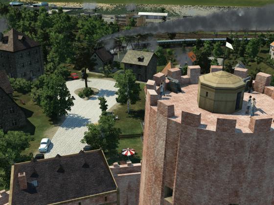 Vom alten Turm hat man doch die beste Aussicht!