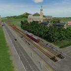 Mit dem Schienenbus hoch zur Burg