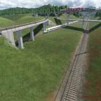 """""""euro tunnel"""" Ausfädelung"""