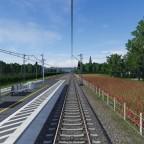 Mit der S-Bahn aus der Stadt raus