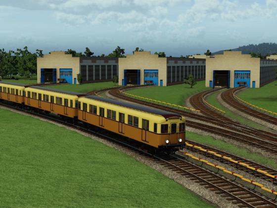 A type Metro train