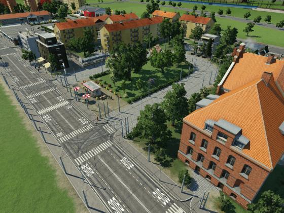 Wachtberg Ost Endhaltestelle an der Sternwarte