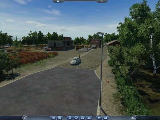 Der verträumte Güterbahnhof