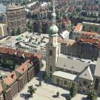 Kilianskirche und Rathausplatz Heilbronn