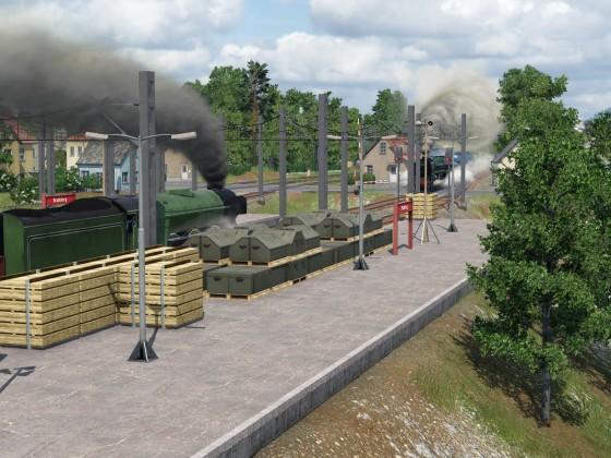 Steam meet in Bradeburg