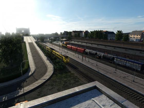 Morgens am Rotterdammer Fährhafen