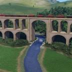 Viadukt über Fluss 2