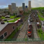 Maltby Betriebswerk mit Blick Richtung HBF und Innenstadt
