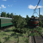 Train Graveyard in Russia #4