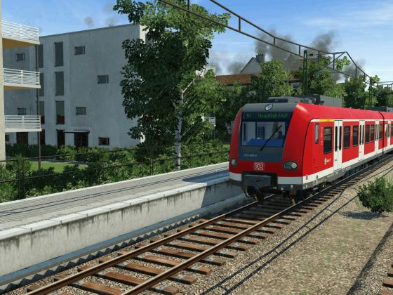Baureihe 423 in Action