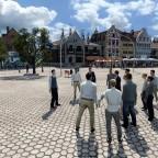 Stadtführung in Delft (Marktplatz)
