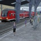 DWA Valkyria / Baureihe 444 bei der Einfahrt.