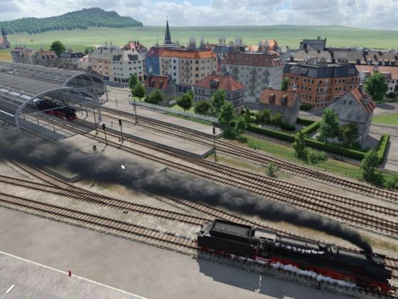 Impressionen aus dem Schwarzwald ... Dampf im Kinzigtal