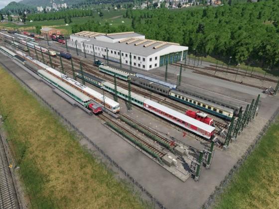 Abstellbahnhof Kronstadt