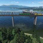 VL11M on the bridge