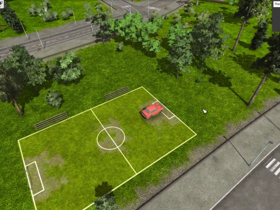 Auto-Fußball