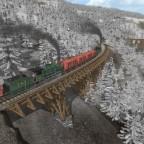 Südbahnlok mit Erzzug