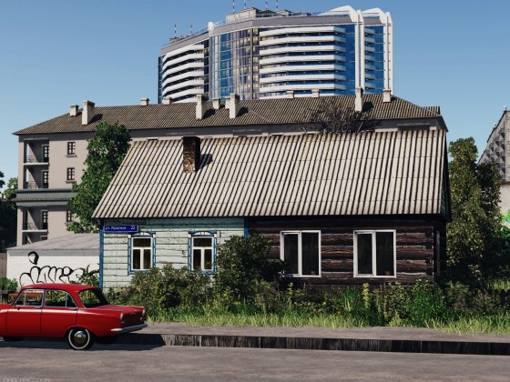 Time contrasts of Russian provinces