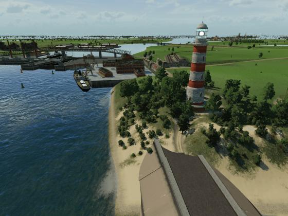 Niederländische Kuste Region