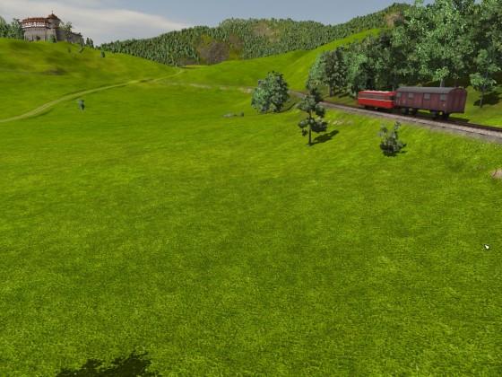 Gebirgsbahn: 2. Ausfahrt
