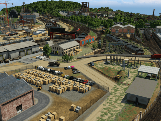 Das alte Logistikzentrum geht wieder in Betrieb