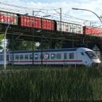 DB Cargo Baureihe 156 über IC