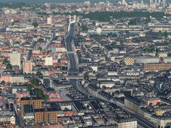 Paris ring road, during confinement lol