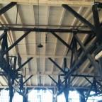 Bahnpark Augsburg, Ringlokschuppen, neues Dach