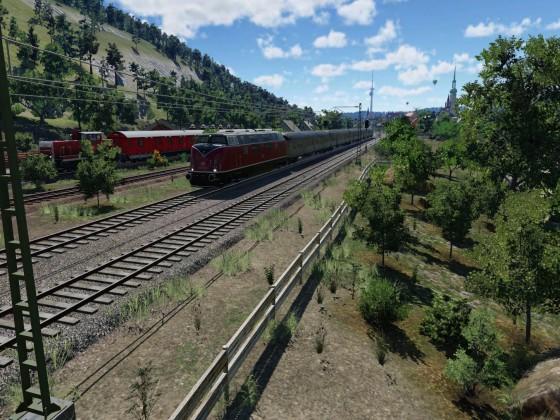 Trainspotting am Rentnereck