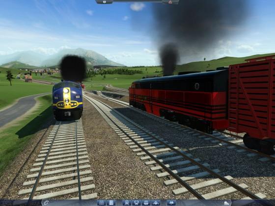 Santa Fee und PA im Güterverkehr